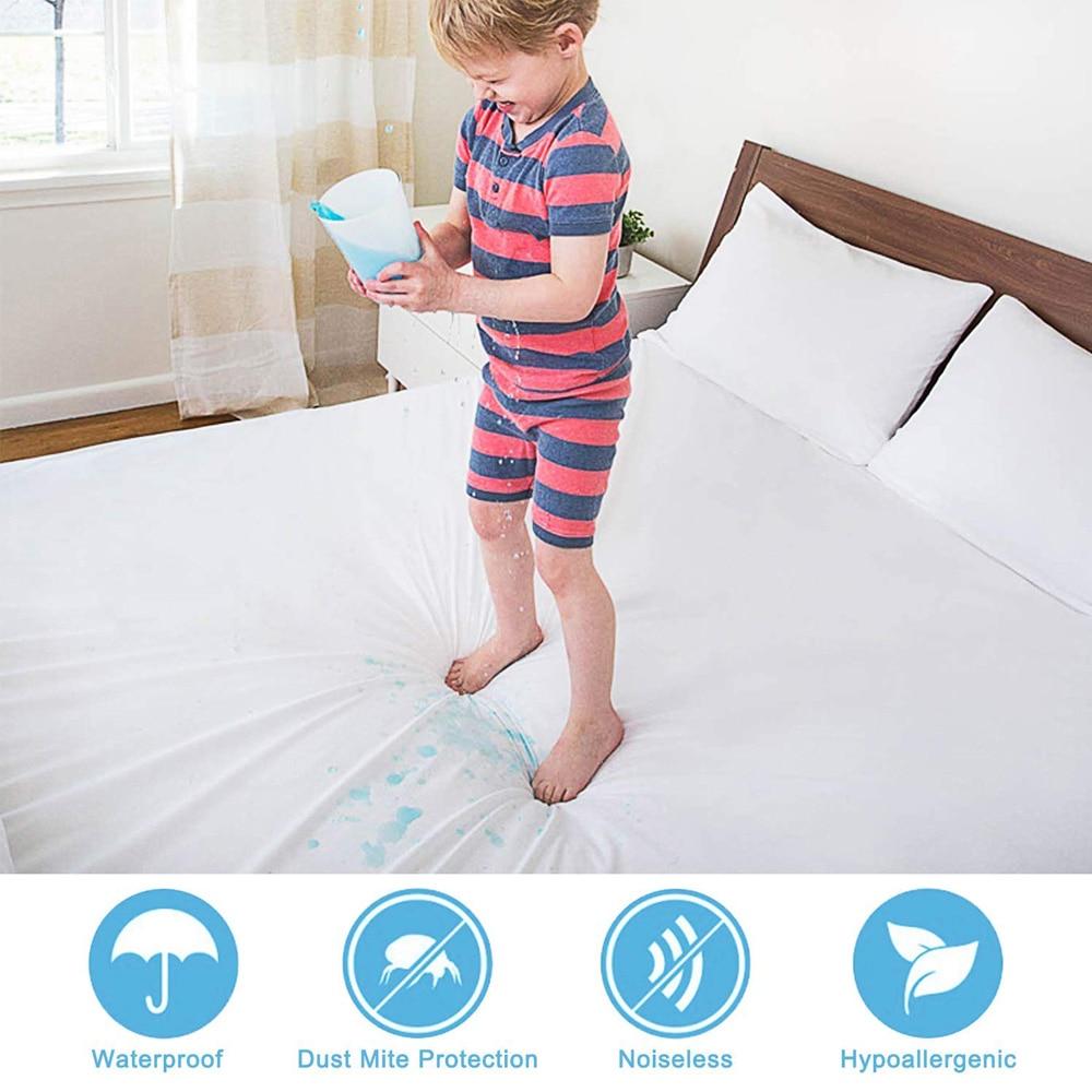 zipper mattress protector