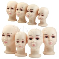 E74 Children Mannequins Manikin Head For Wig Hats Mould Show Stand Model Display Large SIZE
