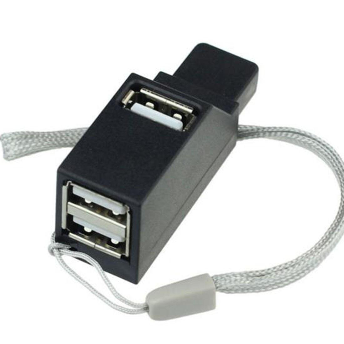 Noyokere Новое поступление Фирменная новинка высокое Скорость 3 Порты концентратор USB 2.0 Мини повернуть usb кабель сплиттер концентраторы Адапте...