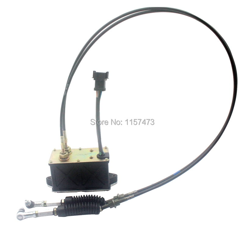 320B Throttle Motor 247-5229 with Double Cable, 6 lines for  Excavator AS-Governor Control, 6 month warranty320B Throttle Motor 247-5229 with Double Cable, 6 lines for  Excavator AS-Governor Control, 6 month warranty