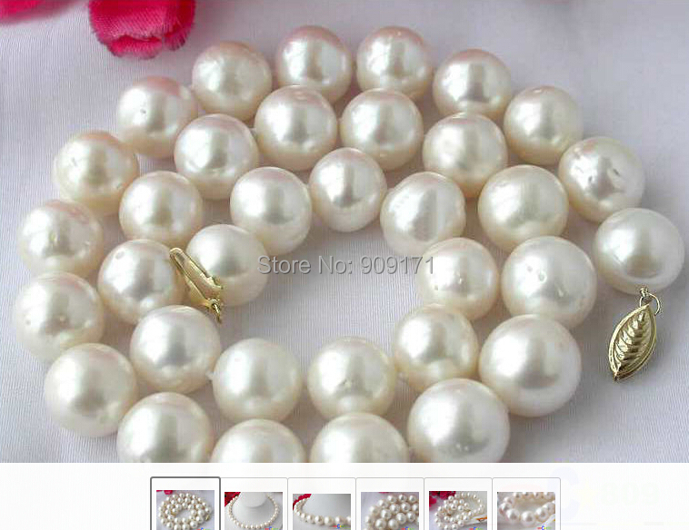 Free Shipping>>HUGE 17 9-10MM WHITE ROUND FRESHWATER CULTURED PEARL NECKLACEFree Shipping>>HUGE 17 9-10MM WHITE ROUND FRESHWATER CULTURED PEARL NECKLACE
