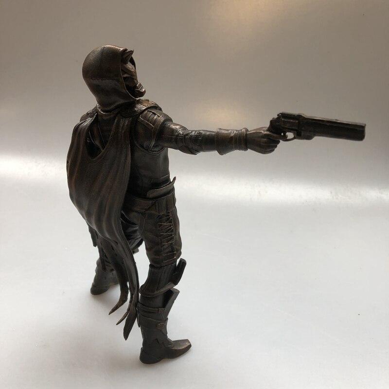 Kit de garaje Original 21cm destino 2 Cayde 6 de pistolero con pistola de cobre figura de acción modelo coleccionable juguetes sueltos regalos - 3
