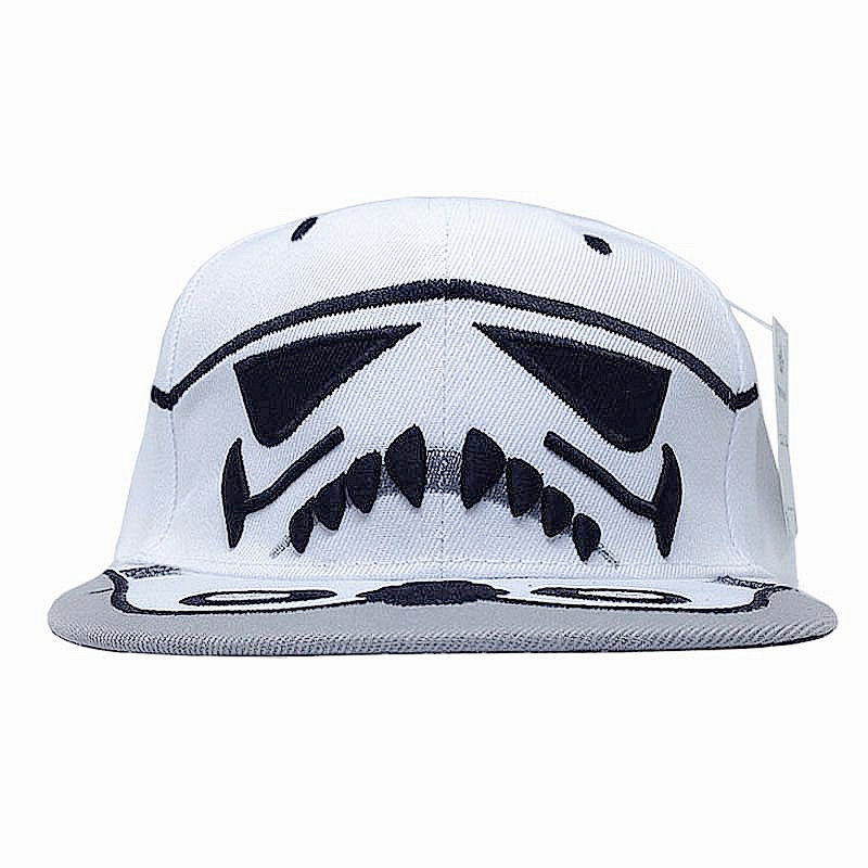f7eb49af2 US $8.99 |Cartoon Star Wars Snapback Cap Cavalry Stormtrooper Baseball Caps  Women Men Anime Hip Hop Hat Stylish Cool Brim Bones Aba Reta on ...