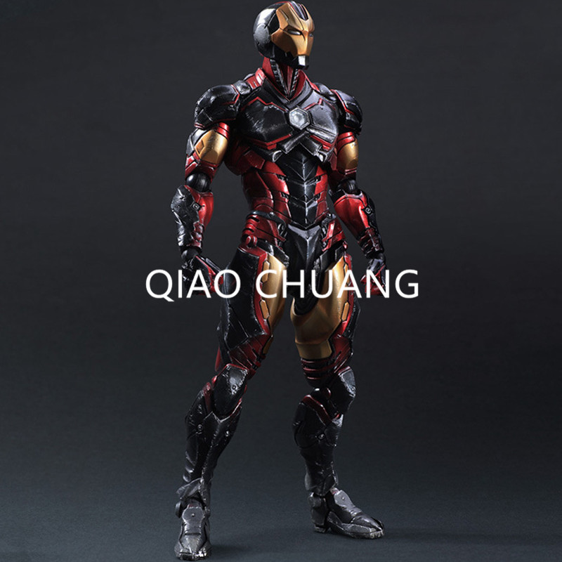 SQUARE ENIX Variant Play Arts Kai Iron Man PVC Action Figure Collectible Model Toy 35CM HRFG472 Creative Anime RETAIL BOX G81 newest square enix play arts kai devil may cry 3 dante pvc kid action figure collectible model toy t5845