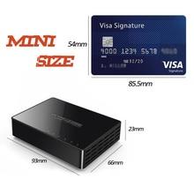 цены на Mini 5 Port Gigabit Ethernet Switch 5 Port 10/100/1000Mbps Desktop Network Switch Lan Hub Small and Smart Auto MDI/MDIX  в интернет-магазинах