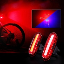Bike Light Bicycle Taillights USB Rechargeable Warning Lights Mountain Riding Equipment Accessories Fashion High Quaility