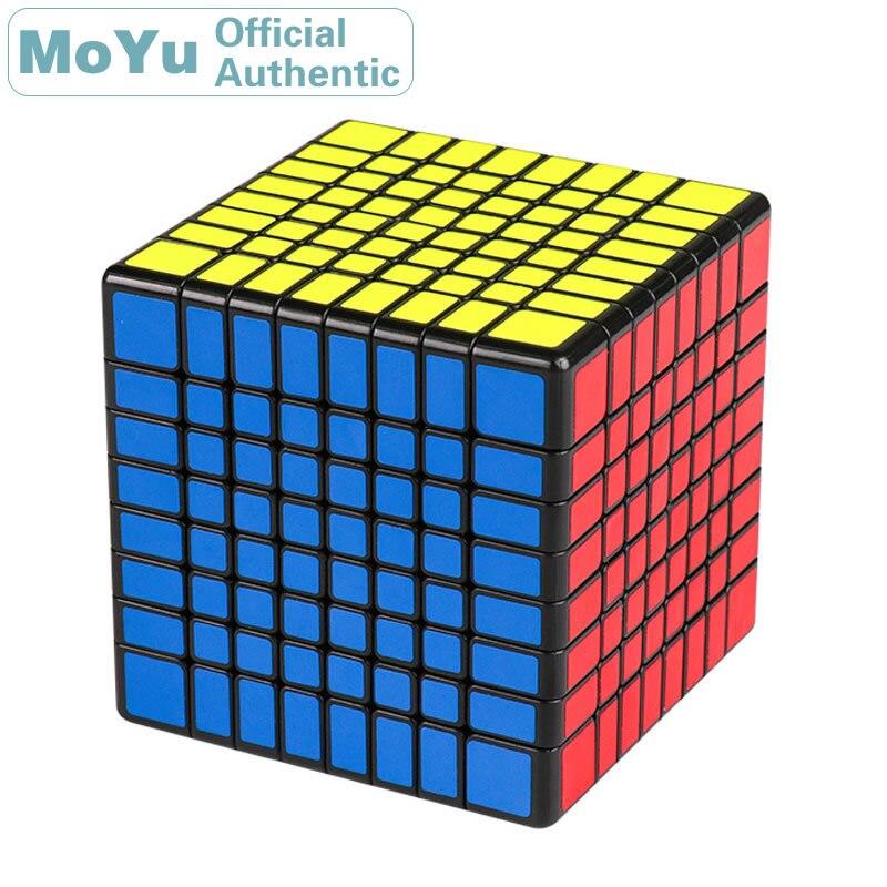 MoYu 8x8x8 Cube magique MF8 8x8 Cubo Magico professionnel néo vitesse Cube Puzzle Antistress Fidget jouets pour enfants