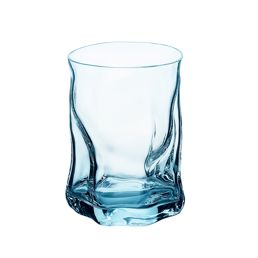 2pcs 300ML glass Cups Cold and hot transparent Water Cups couples Drinking utensils Wine Cup Bar Hotel Party Drinking ware in Other Glass from Home Garden