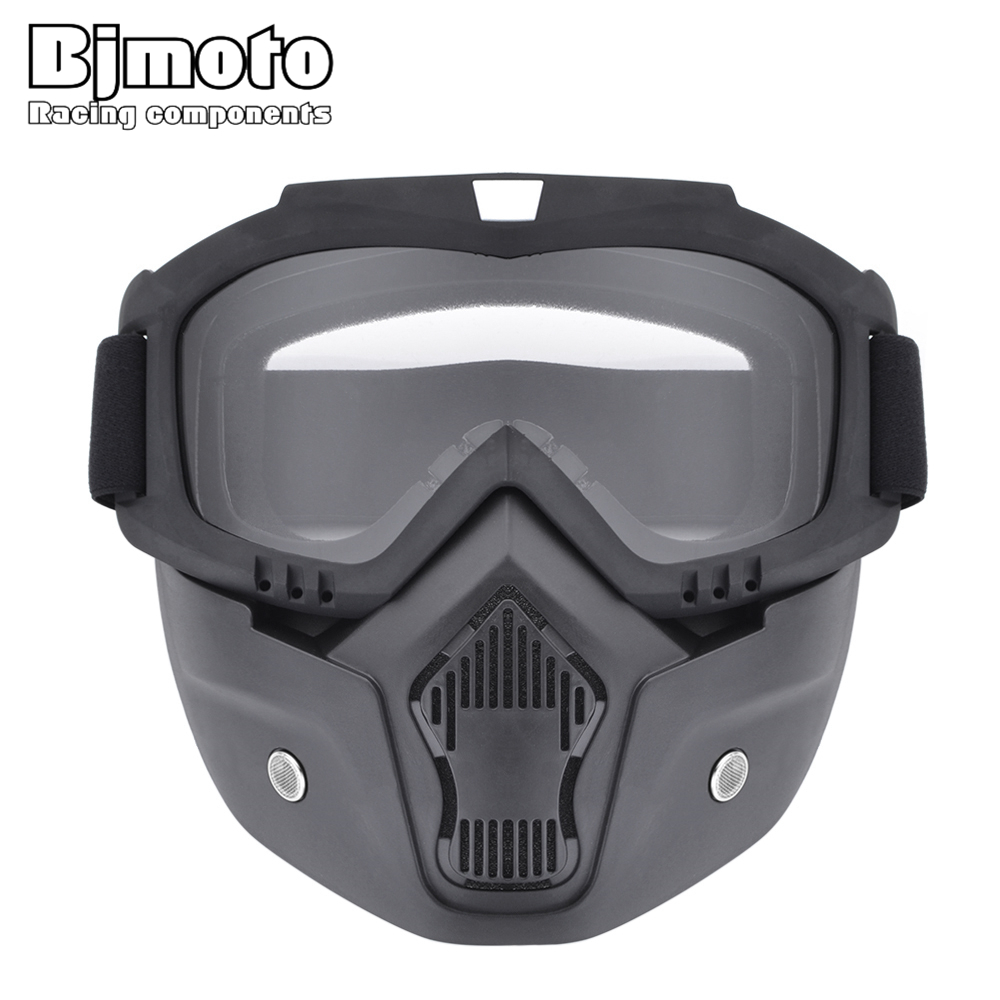 BJMOTO Ski Skate Motorcycle Goggle Motocross Goggles Helmet Glasses Windproof off Road Moto Cross Helmets Mask Goggles MG-022