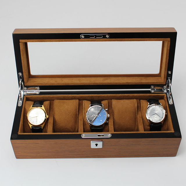 Luxury Five Grids Watch Cases
