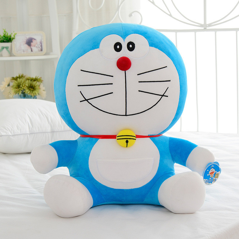 Cartoon Anime Doraemon Plush Toys Very Cute Japanese anime Doraemon Cat Plush Toys For Children's Gift 20cm cartoon cute doll cat plush stuffed cat toys 19cm birthday gift cat high 7 5 inches children toys plush dolls gift for girl
