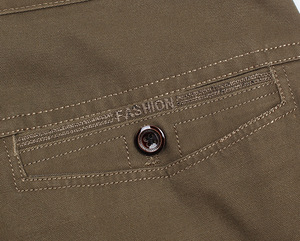 Image 5 - New Design Autumn Casual Men Pants Cotton Loose Male Pant high waist Straight Trousers Fashion Business Pants Men Plus Size 42