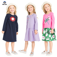 Girls dress brand princess dress girls clothes Vestidos girls dress children long-sleeved costume baby girl clothes girls dresse