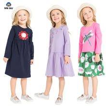 Girls dress brand princess girls clothes Vestidos children long-sleeved costume baby girl dresse