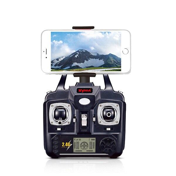 Syma X5SW X5W X5SW 1 2.4 GHz 4CH Axis Gyro WiFi in Tempo Reale Video RC Quadcopter UFO FPV Videocamera HD con Modalità Headless RTF - 2