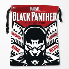 New Custom black panther Bags Custom drawstring Bags Printed gift drawstring bag 27x35cm Compression Type Bags