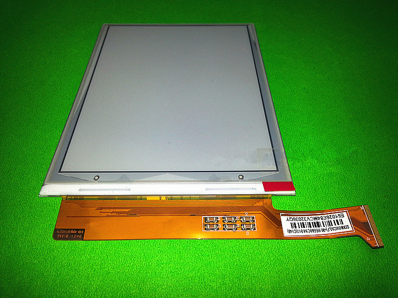 Original new 6 ED060XC5 (LF)  E-ink E-book LCD screen For Gmini MagicBook R6HD E-book LCD display Screen panel free shipping new original 5 inch e ink lcd display screen for pocketbook 360 ed050sc3 lf