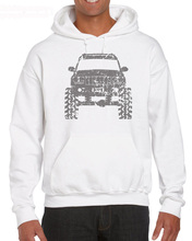 2019 Cotton Man Clothing Jeep Grand Cherokee WJ Lifted Offroad 4 X Hoodies Sweatshirt
