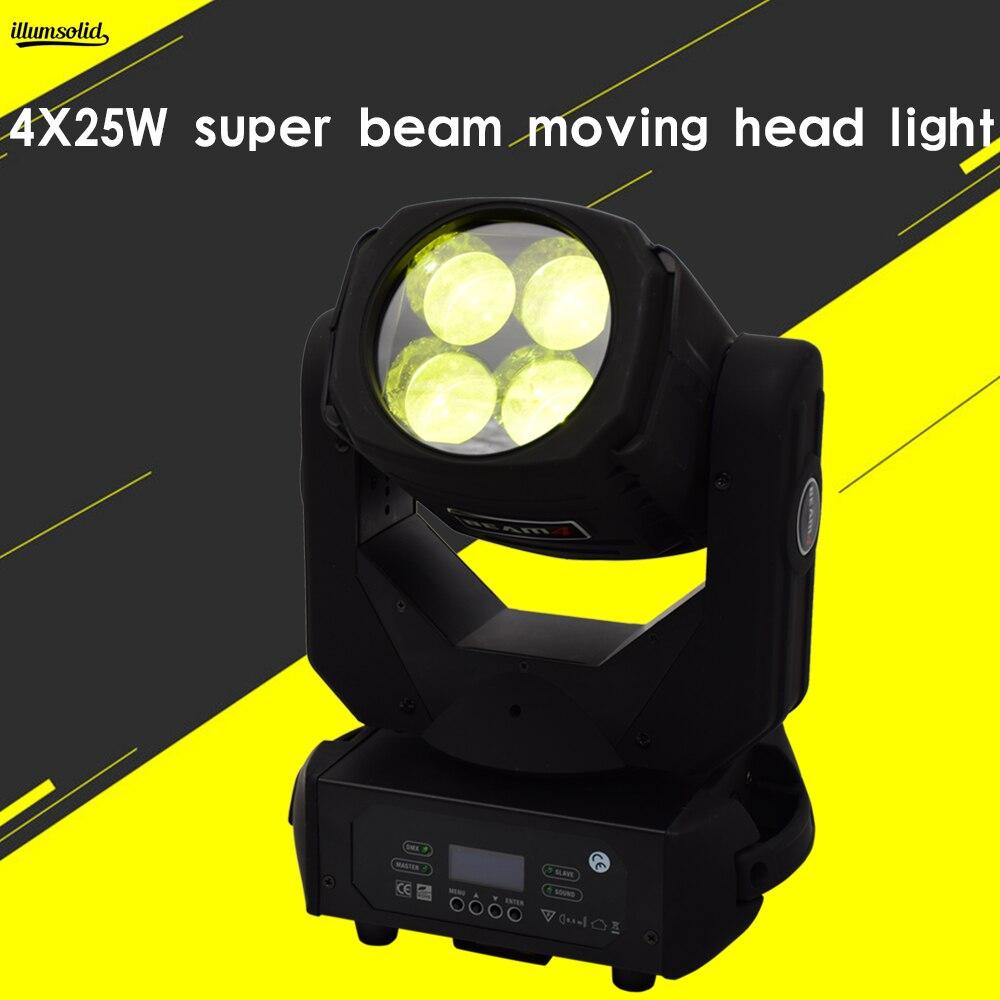 led wash moving head 4x25w super beam light Infinitely rotating lens effect stage lightled wash moving head 4x25w super beam light Infinitely rotating lens effect stage light