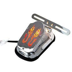 Tablica rejestracyjna LED hamulce tylne światła czerwony dla Harley FLSTN Deluxe 2005-2012 2006