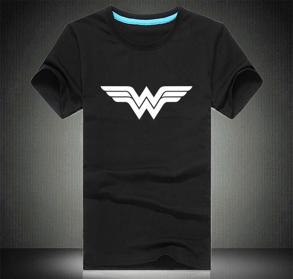 600px New Template for t shirt Black wonder woman