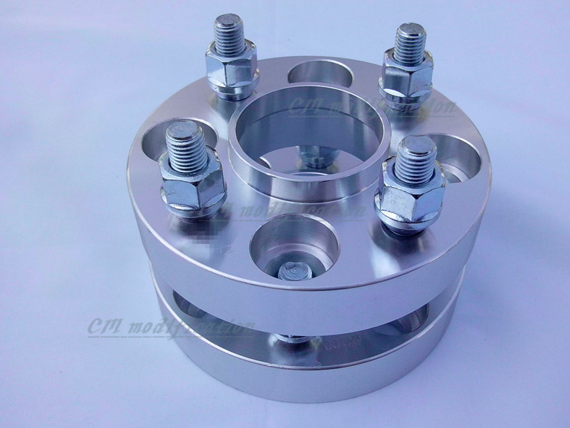 A pair of (2) 4 x4. 5 (114.3 mm), the center hole is 67.1 mm, wheel adapters, spacers, suitable for modern series, kia 2 a pair of 6 x 5 5 139 7 mm the hole is 108 mm the wheel adapters spacers suitable for toyota rand cool luze 80 series