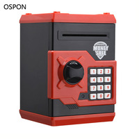 OSPON Safety Mini Safes Piggy Bank Password Lock Security Safes For Kids Children Toys Gift Money