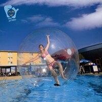 Надувные ходить по воде Бурлящий шарик Диаметр 2 м 0.80 мм ПВХ Германия titzip молния воздуха насос бесплатная