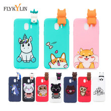 J4+ Phone Case For Coque Samsung Galaxy J4 2018 Plus Cover for Fundas J6 / Unicorn Silicone Cases