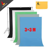 High Quality Blue Non-woven Fabric 3*3 M 10x10ft Background Backdrop for Studio Photo lighting