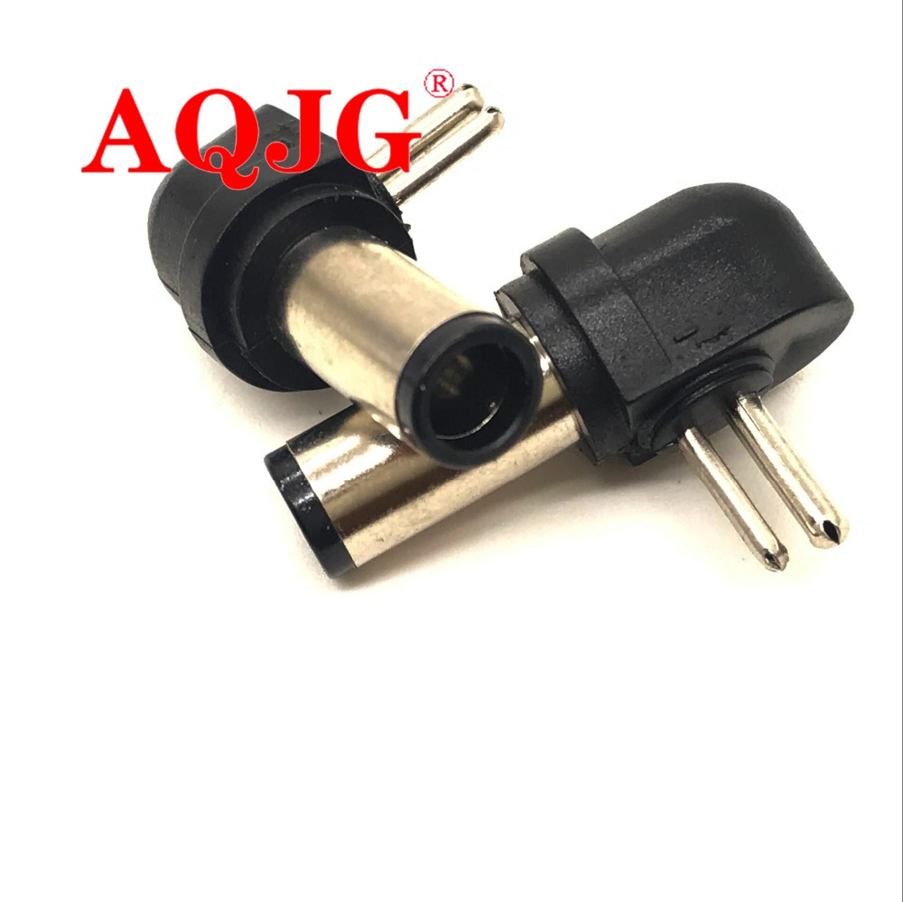 7.4*5.0mm Universal AC DC  2 Pin Charger Tip Power Adapter Notebook Laptop DC Power 7.4 5.5 Plug Jack