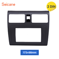 Seicane 2Din 173*98mm Audio Frame Face Plate Dash Kit Cover Trim Car Radio Fascia Panel For 2009 Suzuki Swift with Ventilation