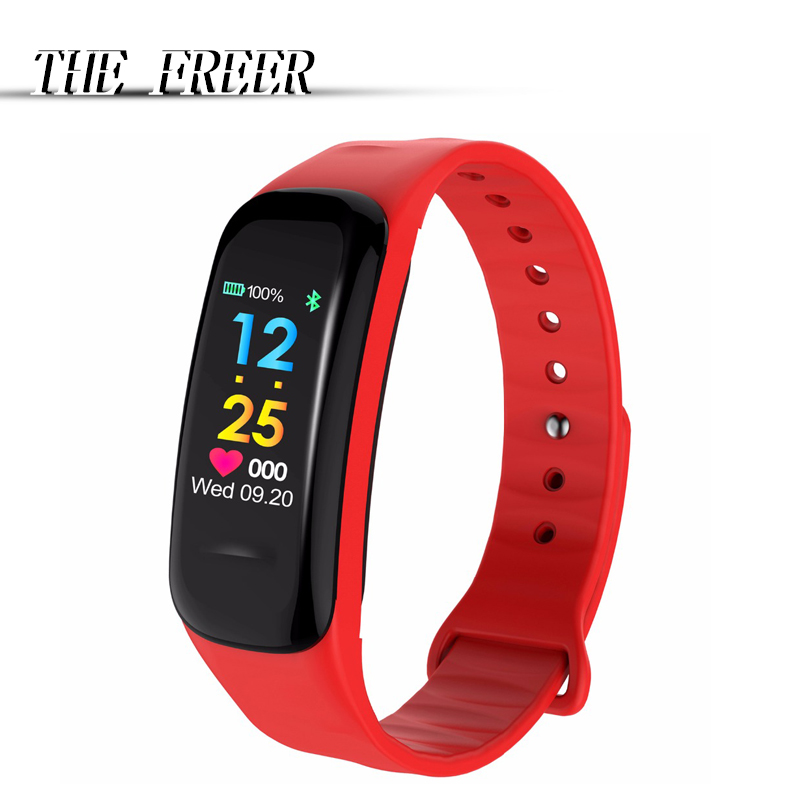 Bluetooth Smart Wrist Band Women Men Sport Bracelet Watch Waterproof Heart Rate Blood Pressure Calories For iOS Android multifunction digital pulse rate calories counter wrist watch orange 1 x 2032