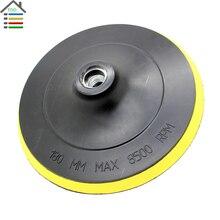 Polish Pad Bonnet Polisher Buffer Wheel Disc fit Angle Grinder Sander Sticky Adhesive Disk for Sander