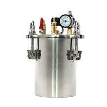 304 stainless steel pressure tank, dispenser storage tank 1L-2L, with safety valve, regulating valve