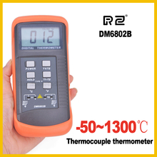 RZ DM6802B Digital thermometer 100% brand new and Low battery indication