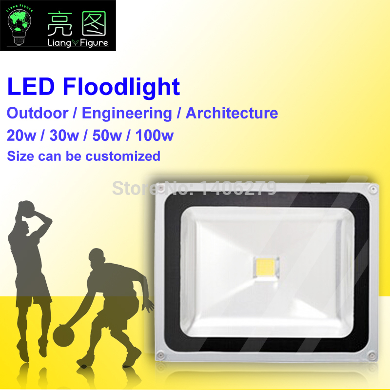 LED 50W Waterproof Outdoor Floodlight White/Warm White IP65 LED Outdoor Lighting Lamp LED Spotlight LED Projector lamp light 50w ip65 waterproof floodlights white warm white led outdoor light projector lamp garden lighting