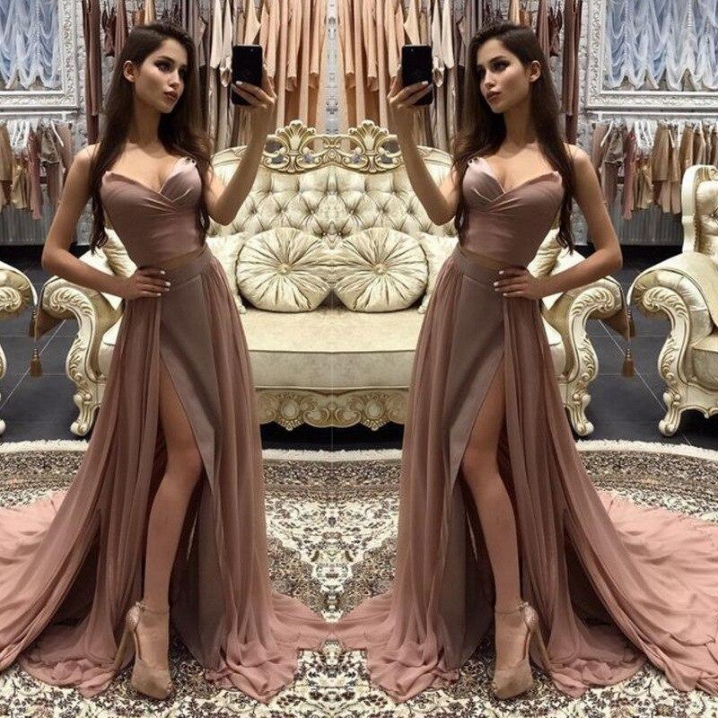 ZTVitality Sexy Solide Sans Manches De Split Longue Robe Femmes D'été Habille la Nouvelle 2019 Robes De Partie De Mode Robe Robe De Fiesta