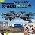 X600 2.4 G RC quad copter drone RC helicóptero MJX 6-axis pode adicionar C4002 & C4005 camera ( FPV ) R / C quadcopter ( navio com pacote pequeno )