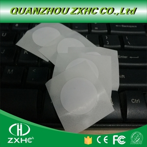 (10PCS/LOT)F08 Tag Stickers 25mm 1K 13.56Mhz ISO14443A RFID Label Smart Keytag Card(China)