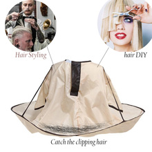 Adult Foldable Hair Cutting Cloak Umbrella Cape Salon barber accessories Hair Styling Family hair cut hairdressing beard styling
