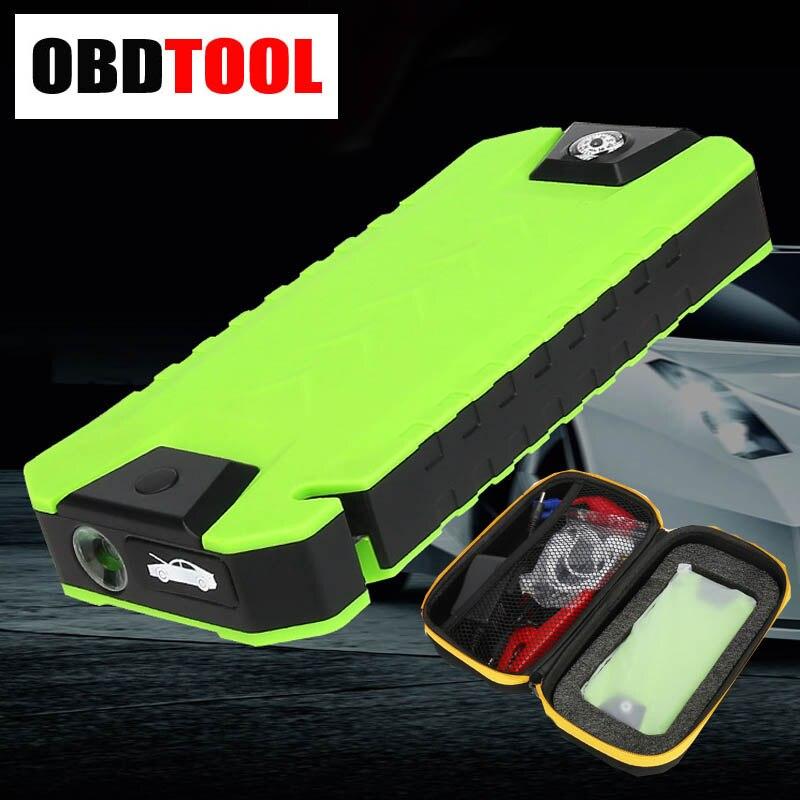 Support automatique de batterie de voiture de chargeur d'eps de début de saut du sac 20000 mAh de luxe pour l'essence Diesel avec l'éclairage de lame et de sécurité de Hummer SOS