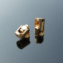 Латунный шарнир 3-3 мм микро медный карданный универсальный соединительный вал муфты