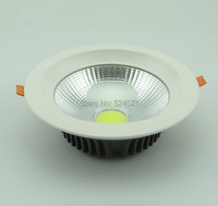 Wholesale Free Shipping COB 20W Warm White Cold White Dimmable COB Led Down Light Led