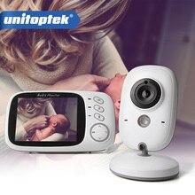 3.2 인치 2.4 ghz 무선 비디오 컬러 베이비 모니터 고해상도 베이비 보모 보안 카메라 야간 투시경 온도 모니터링