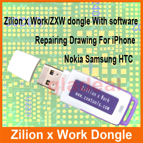 Original Zillion x Work ZXW DONGLE Repair Mobile Smartphone Circuit Board Repair Mobile Phone PCB The