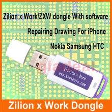 Original Chorrocientos x Trabajo ZXW DONGLE Smartphone Móvil de Reparación de Herramientas de Reparación de Placa de Circuito PCB Teléfono Móvil El Diagrama del Circuito