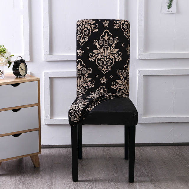 Flower print Removable chair cover
