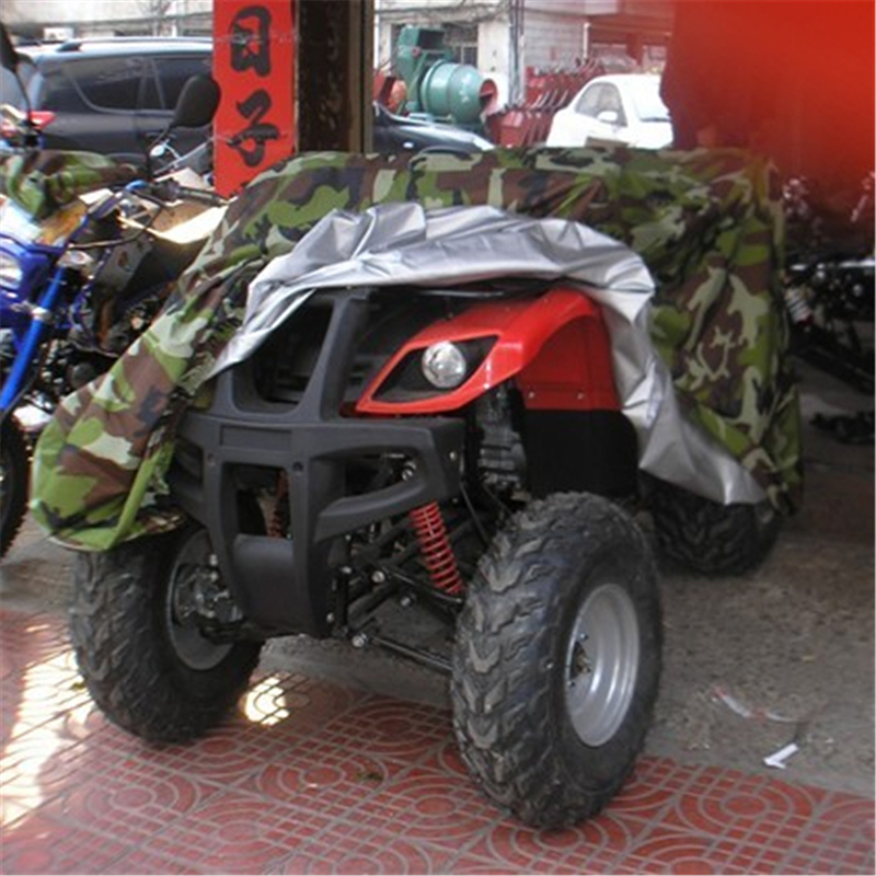 Camouflage Terreinwagen Strand Motorfiets Cover Atv Cover Case Waterdichte Scooter Motor Quad Bike Cover Protector