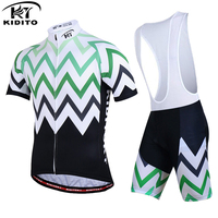 KIDITOKT short cycling suits 100% Polyester Racing Bike Clothes Cycling Set Racing Sport Bike Jersey roupa ciclismo china